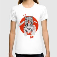 Lady of the Wild Womens Fitted Tee White SMALL