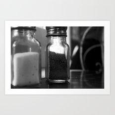 Salt & Pepper Art Print