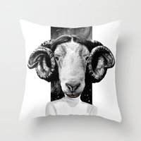LEIA Throw Pillow