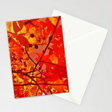 Fall Trees Stationery Cards