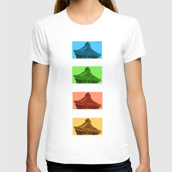 a few reflections on an elegant curve T-shirt