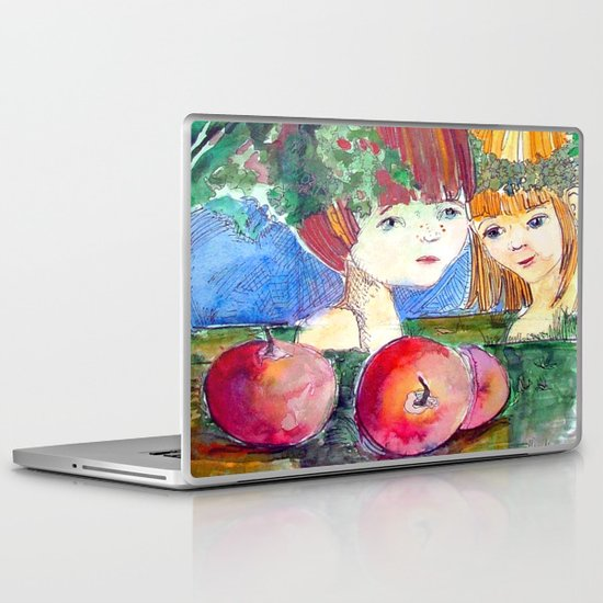 Little Adam and Eve Laptop & iPad Skin