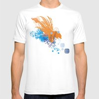Cerulean Mermaid Mens Fitted Tee White SMALL