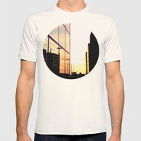 The City Mens Fitted Tee Natural SMALL