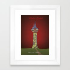 Mother Gothel | Villains do It Better Framed Art Print