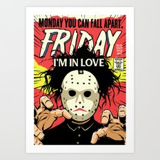 TFTS | Friday Art Print