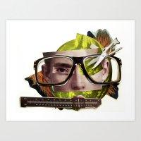 Make Me Perfect | Collag… Art Print