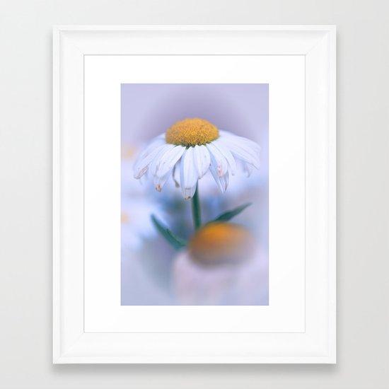 Softly Purple Framed Art Print
