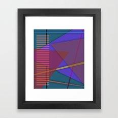 Abstract #419 Framed Art Print