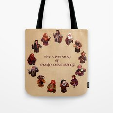 The Company of Thorin Oakenshield Tote Bag