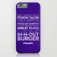 iPhone & iPod Case featuring  Los Angeles — Delicious City Prints by Roni Lagin & Co.