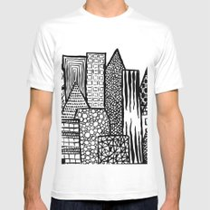 Where Are You Today? Mens Fitted Tee White SMALL