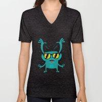 Cool Monkey! Unisex V-Neck