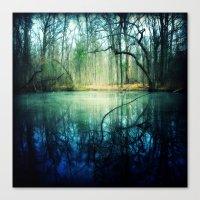 Enchantment of Everaft Canvas Print