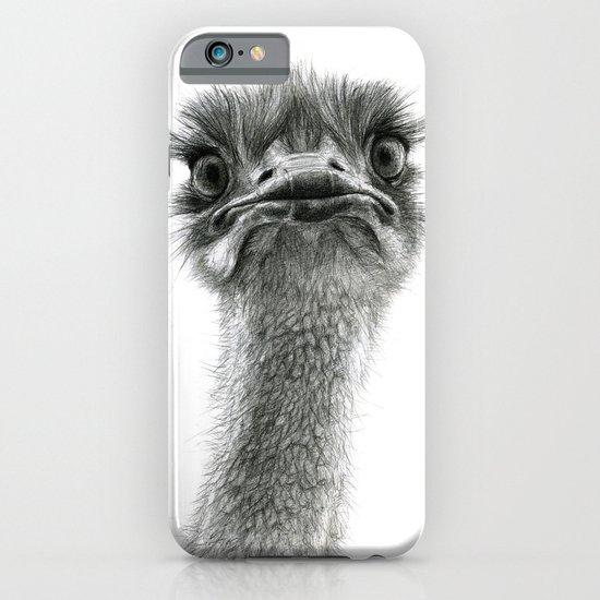 Cute Ostrich SK053 bis iPhone & iPod Case