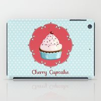 Cherry Cupcake iPad Case