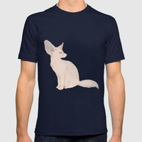 Fennec Mens Fitted Tee Navy SMALL