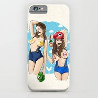 iPhone & iPod Case featuring We're Here to Clean Your Pipes by keith p. rein