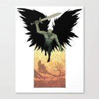 wrath Canvas Print