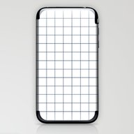 Chek - Check Grid Simple… iPhone & iPod Skin