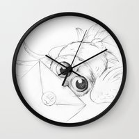 Little Owl, Pigwidgeon, … Wall Clock