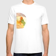 I love you free Mens Fitted Tee SMALL White