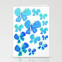 Butterflies, Butterfly P… Stationery Cards