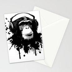 Monkey Business - White Stationery Cards