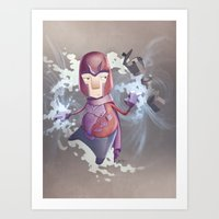 Magneto Kaffee Time Art Print