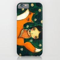 iPhone & iPod Case featuring Riding My Fox by Danita Art