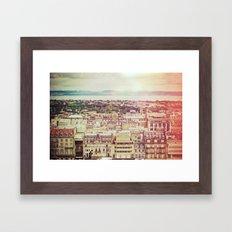 Edinburgh Love Framed Art Print