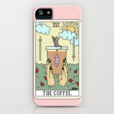 COFFEE READING iPhone (5, 5s) Slim Case