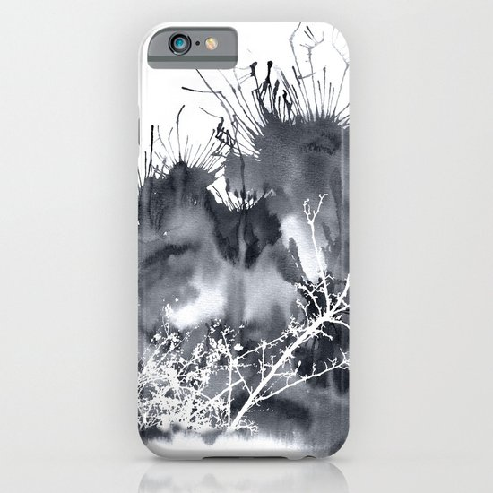 grey sky iPhone & iPod Case