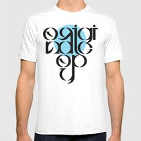 Original Copy Mens Fitted Tee White SMALL