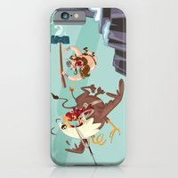 iPhone & iPod Case featuring Braun Bloodstone and the Griffin by David Finley