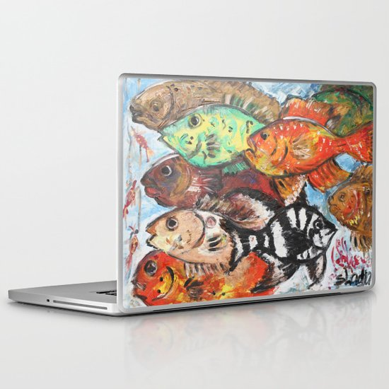 clever one Laptop & iPad Skin