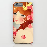 iPhone & iPod Case featuring Lily by Jenny Lloyd Illustration