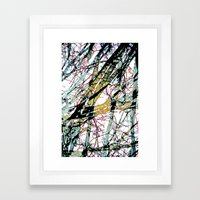 CRACKED CHINA Framed Art Print