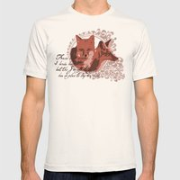 Foxes Have Dens Mens Fitted Tee Natural SMALL