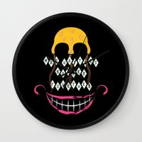 Mad Hatters Wall Clock