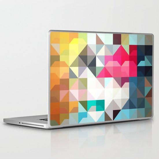 color story - pixelated warfare Laptop & iPad Skin