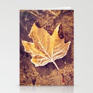 Autumn Frost Stationery Cards