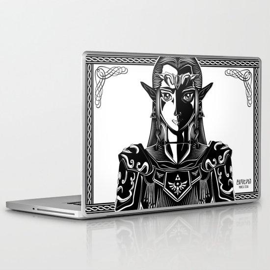 Legend of Zelda Princess Zelda Line Work  Laptop & iPad Skin