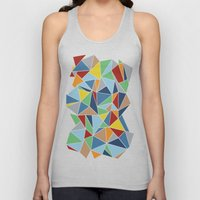 Abstraction Outline Unisex Tank Top
