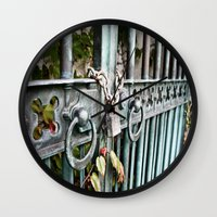 Locked Wall Clock