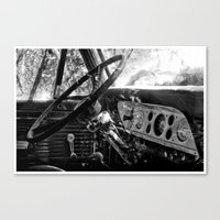 Dashboard Story 01 Canvas Print
