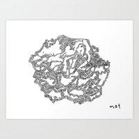 Rupestrer Art Print