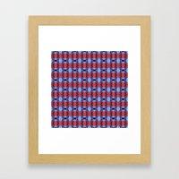 Pttrn25 Framed Art Print