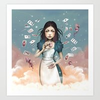 It's Time For Tea Alice Art Print
