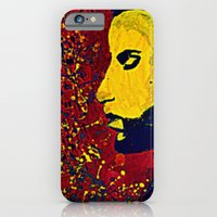 iPhone & iPod Case featuring Prince Portrait by Gafoor
